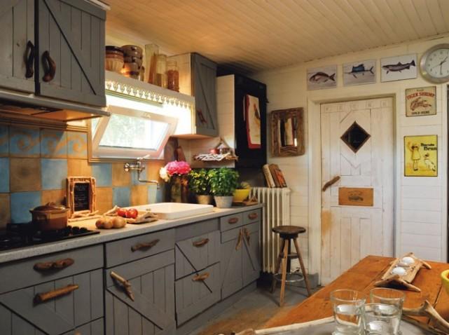 organisation décoration cuisine campagne chic