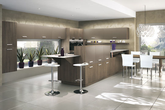 D coration cuisine moderne am ricaine for Deco salon cuisine americaine
