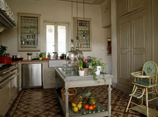 d coration cuisine r tro. Black Bedroom Furniture Sets. Home Design Ideas