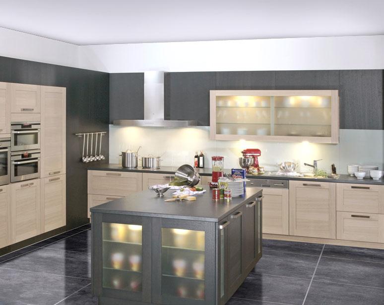 décoration cuisines contemporaines - Photo Déco