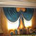 décoration rideaux salon 2013