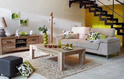organisation d coration salon couleurs chaudes. Black Bedroom Furniture Sets. Home Design Ideas