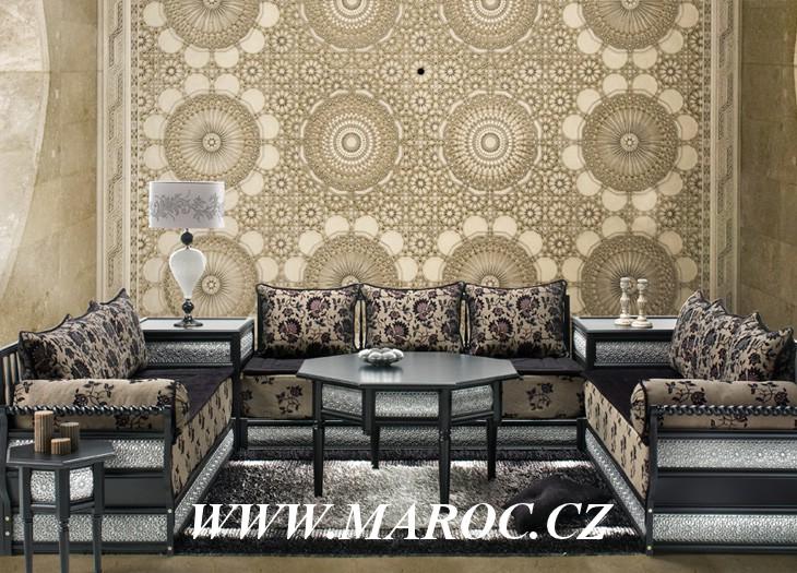 décoration salon marocain 2013