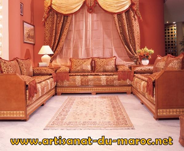 d coration salon marocain 2013. Black Bedroom Furniture Sets. Home Design Ideas