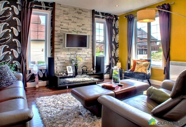 d coration salon tendance 2013. Black Bedroom Furniture Sets. Home Design Ideas