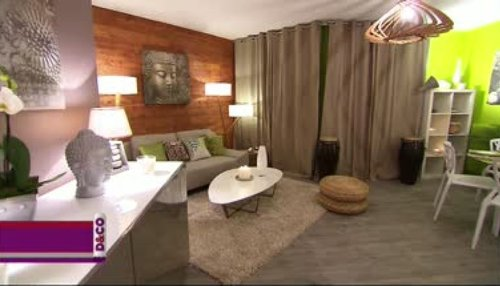 d coration salon zen nature. Black Bedroom Furniture Sets. Home Design Ideas