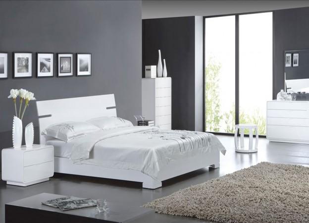 Deco chambre gris blanc - Deco gris blanc ...