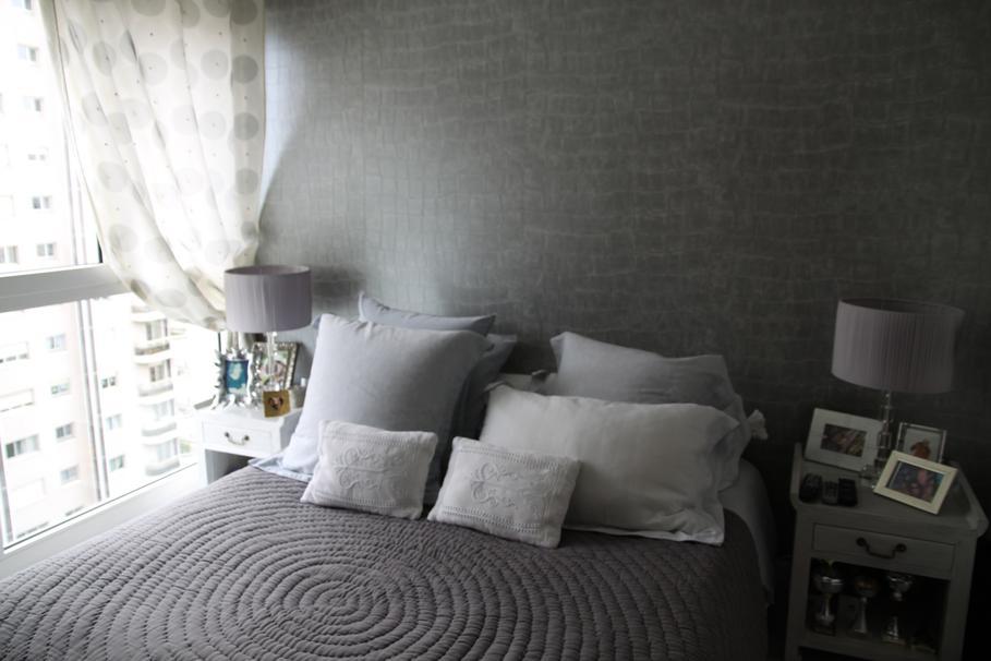 deco chambre gris blanc noir