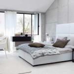 deco chambre gris blanc rose