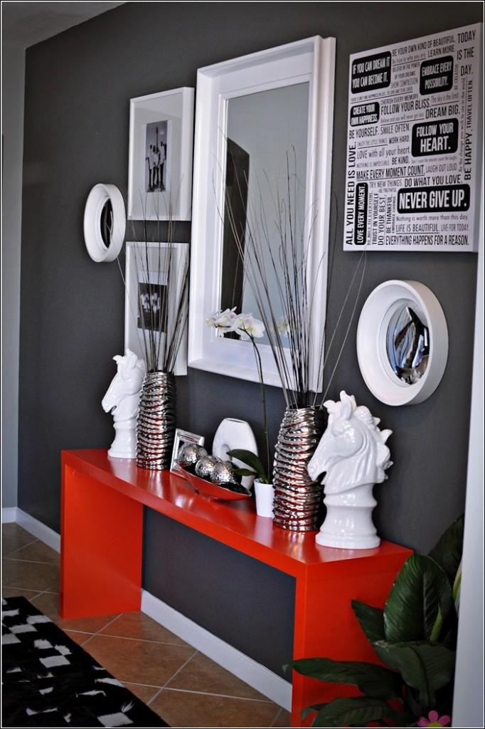 Deco chambre gris blanc rouge - Deco chambre gris blanc ...