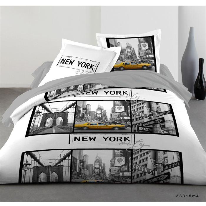 deco chambre new york jaune. Black Bedroom Furniture Sets. Home Design Ideas