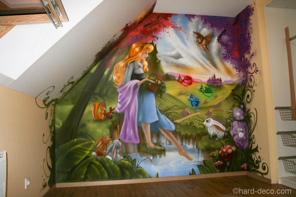 Deco chambre petite fille princesse - Amenagement petite chambre fille ...