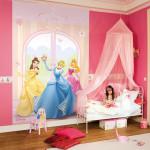 deco chambre petite fille princesse