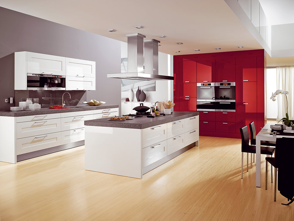 deco cuisines modernes. Black Bedroom Furniture Sets. Home Design Ideas