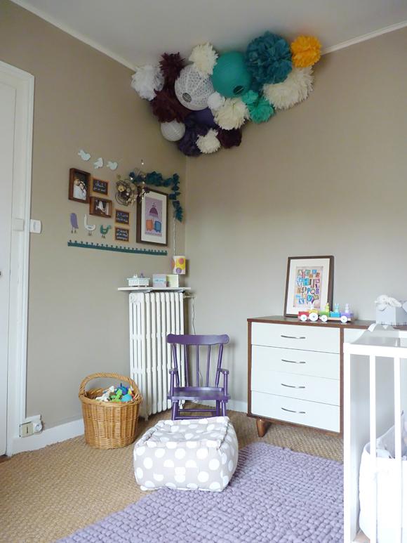 Photo Peinture Pour Chambre Bébé : Déco maison pour chambre bebe