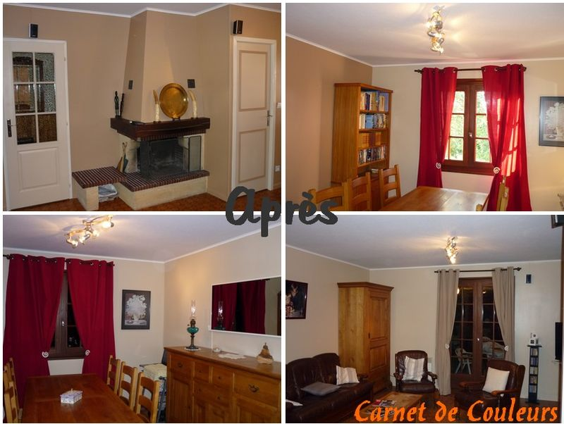 deco salon couleur lin. Black Bedroom Furniture Sets. Home Design Ideas