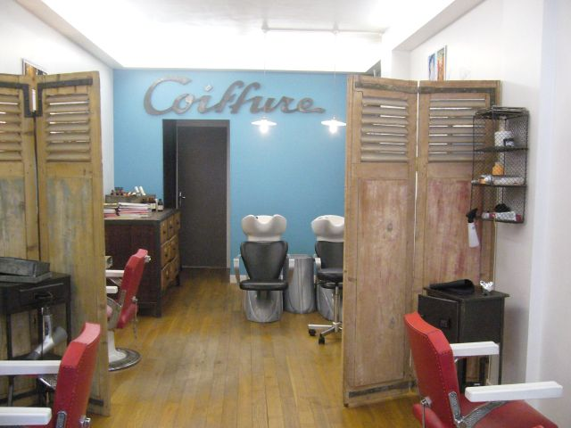 Deco salon de coiffure for Photo deco salon