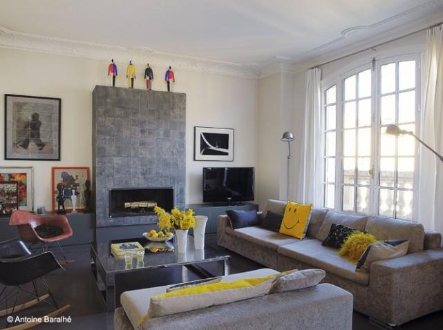 Exemple Deco Salon Gris Et Beige