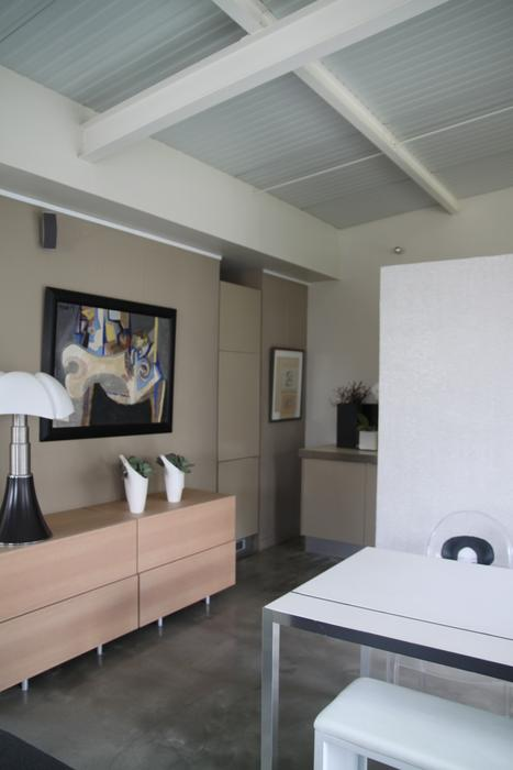 deco salon gris et beige. Black Bedroom Furniture Sets. Home Design Ideas