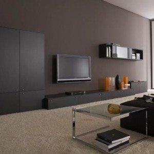 deco salon gris et taupe. Black Bedroom Furniture Sets. Home Design Ideas