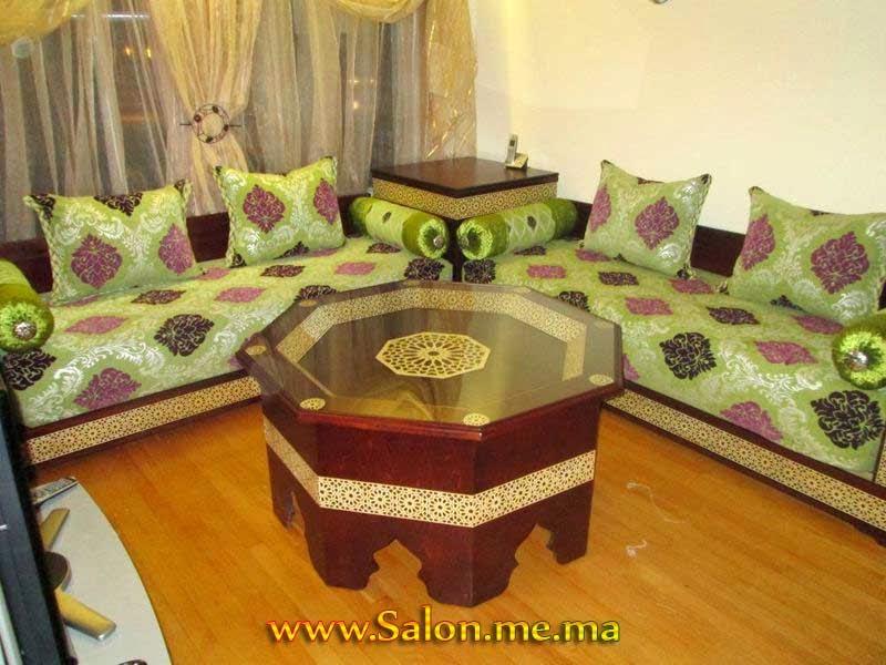 Deco salon marocain 2014 for Decoration de coin de salon