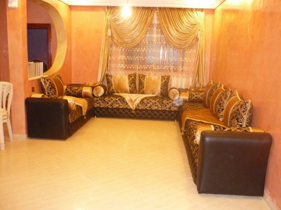 exemple deco salon marocain moderne
