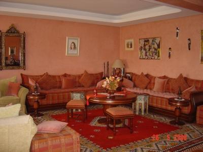 deco salon marocain peinture - Peinture Moderne Pour Salon Marocain
