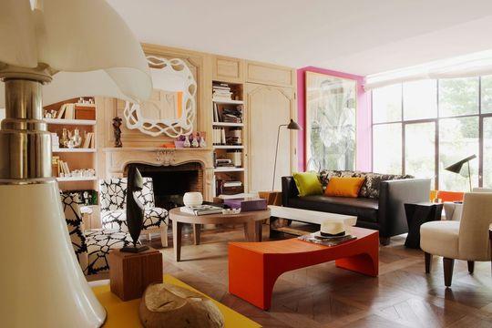 Deco salon melange ancien et moderne for Deco maison moderne ancien