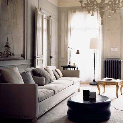 Jolie Deco Salon Melange Ancien Et Moderne