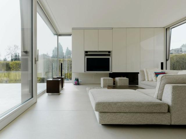 Photo deco salon moderne 2014