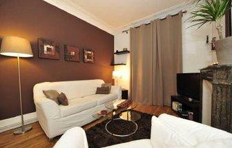 Idee Deco Salon Marron. Perfect Deco Salon Marron Idaces Design Pour ...