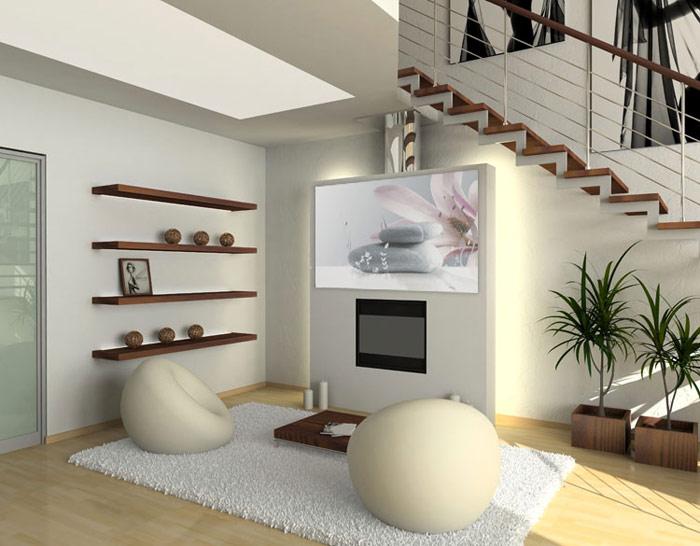 Exemple Deco Salon Zen Moderne