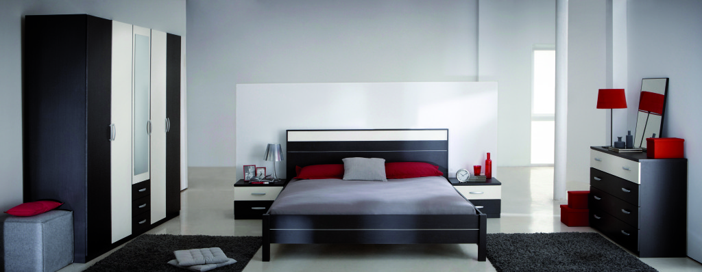 decoration chambre coucher adulte moderne. Black Bedroom Furniture Sets. Home Design Ideas