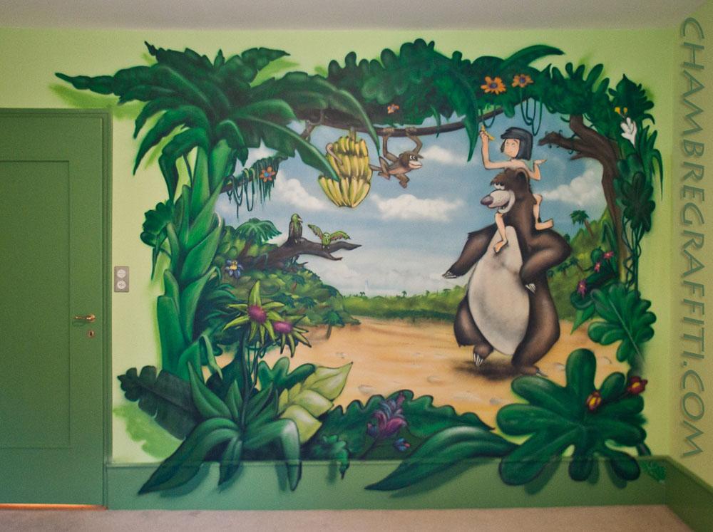 Decoration chambre bebe animaux jungle - Decoration animaux de la jungle ...