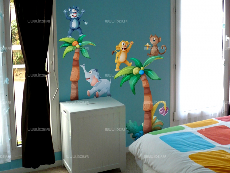 Decoration Jungle Chambre Enfant Meuble
