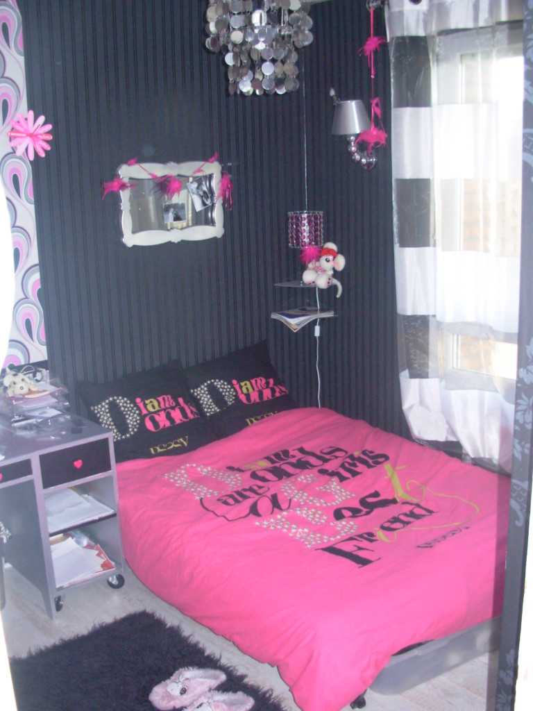 chambre vintage ado fille. Black Bedroom Furniture Sets. Home Design Ideas