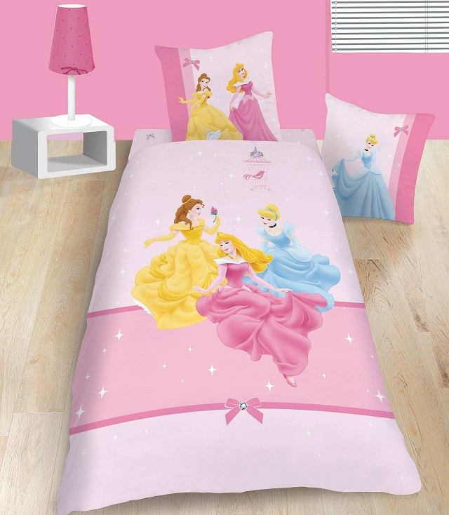 photo decoration chambre fille princesse disney - Decoration Chambre Princesse