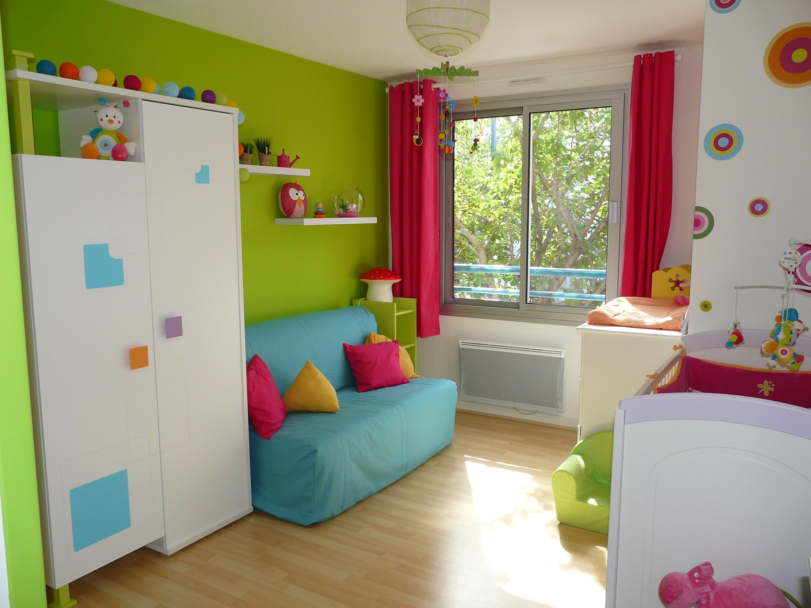 Photo decoration decoration chambre garcon et fille - Chambre garcon et fille ensemble ...