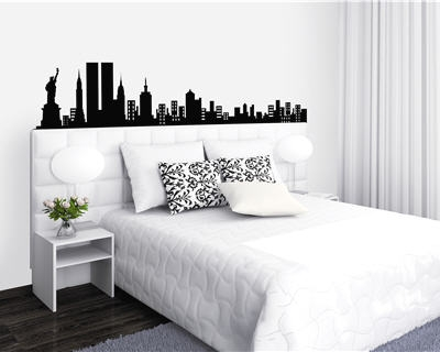 decoration chambre new yorkaise. Black Bedroom Furniture Sets. Home Design Ideas