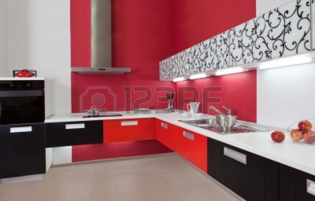 Cuisine : cuisine decoration rouge Cuisine Decoration Rouge ...