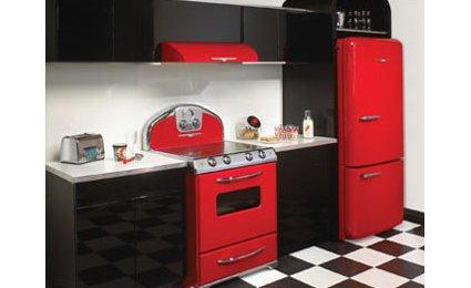 Decoration cuisine rouge et noir - Cuisine noir et rouge ...