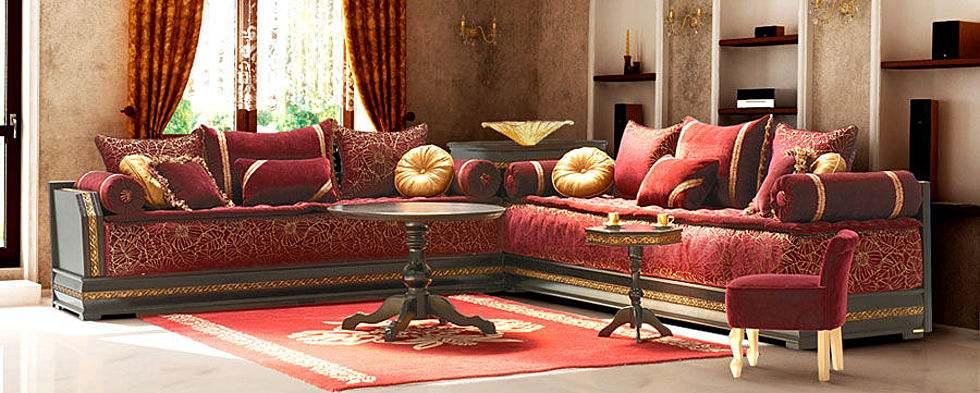 Decoration de salon marocain 2014 for Salon de jardin marocain