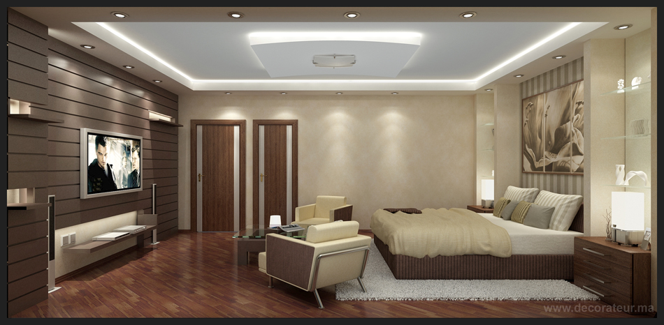 ide decoration interieur chambre adulte moderne