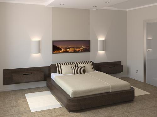 Photo decoration interieur chambre adulte moderne - Photo Déco