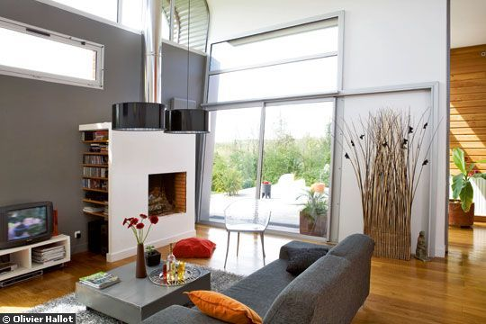 decoration interieur salon gris. Black Bedroom Furniture Sets. Home Design Ideas