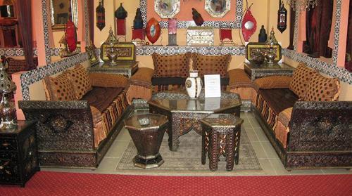decoration interieur salon marocain. Black Bedroom Furniture Sets. Home Design Ideas