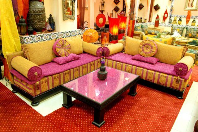 decoration interieur salon marocain