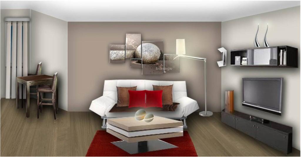 Decoration interieur salon moderne Belle deco interieur