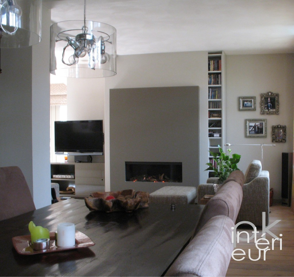 Decoration interieur salon sejour - Decorer un grand pan de mur ...