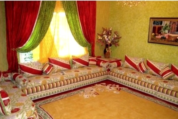 Decoration salon marocain beldi - Deco salon americain ...